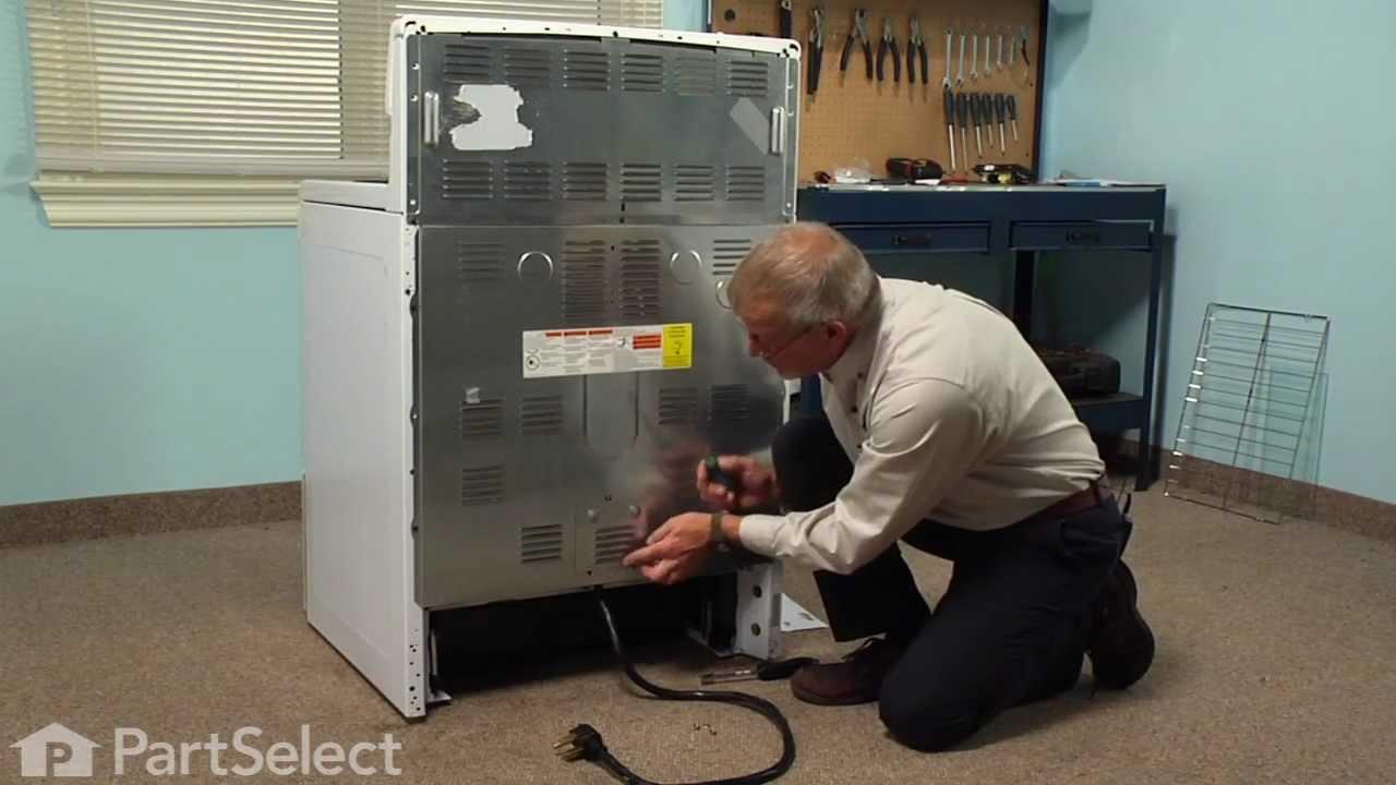 Range Stove Oven Repair Replacing The Main Terminal