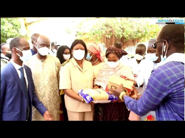 Distribution de Kits Alimentaires à Ouakam: Mansour Faye fait l'état des lieux du processus