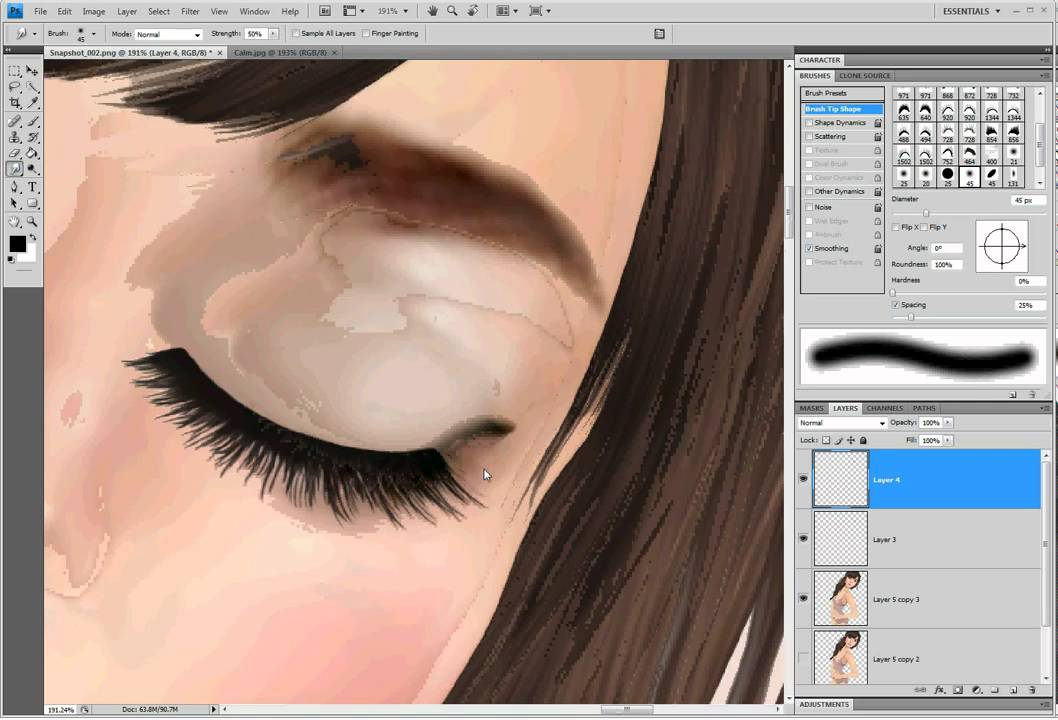 Second Life Photography Tutorials - Closed eyes - YouTube