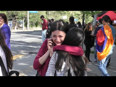 Yerevan, 23.04.18, Mo, Video-1, Or 11-rd, Nikolin azatel en!...Hrazharakan!