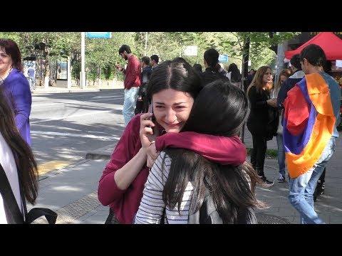 Yerevan, 23.04.18, Mo, Video-1, Or 11-rd, Nikolin Azatel En!...Hrazharakan!