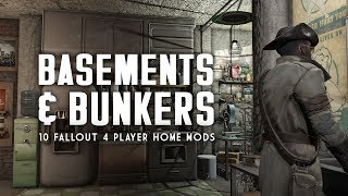 The Top 10 Bunker Basement Player Homes for Fallout 4 - Oxhorn s Mod Muster