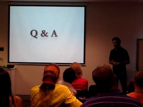FREDERIC PATENAUDE, Raw & Living Foods, Brisbane, Australia - Q&A Session