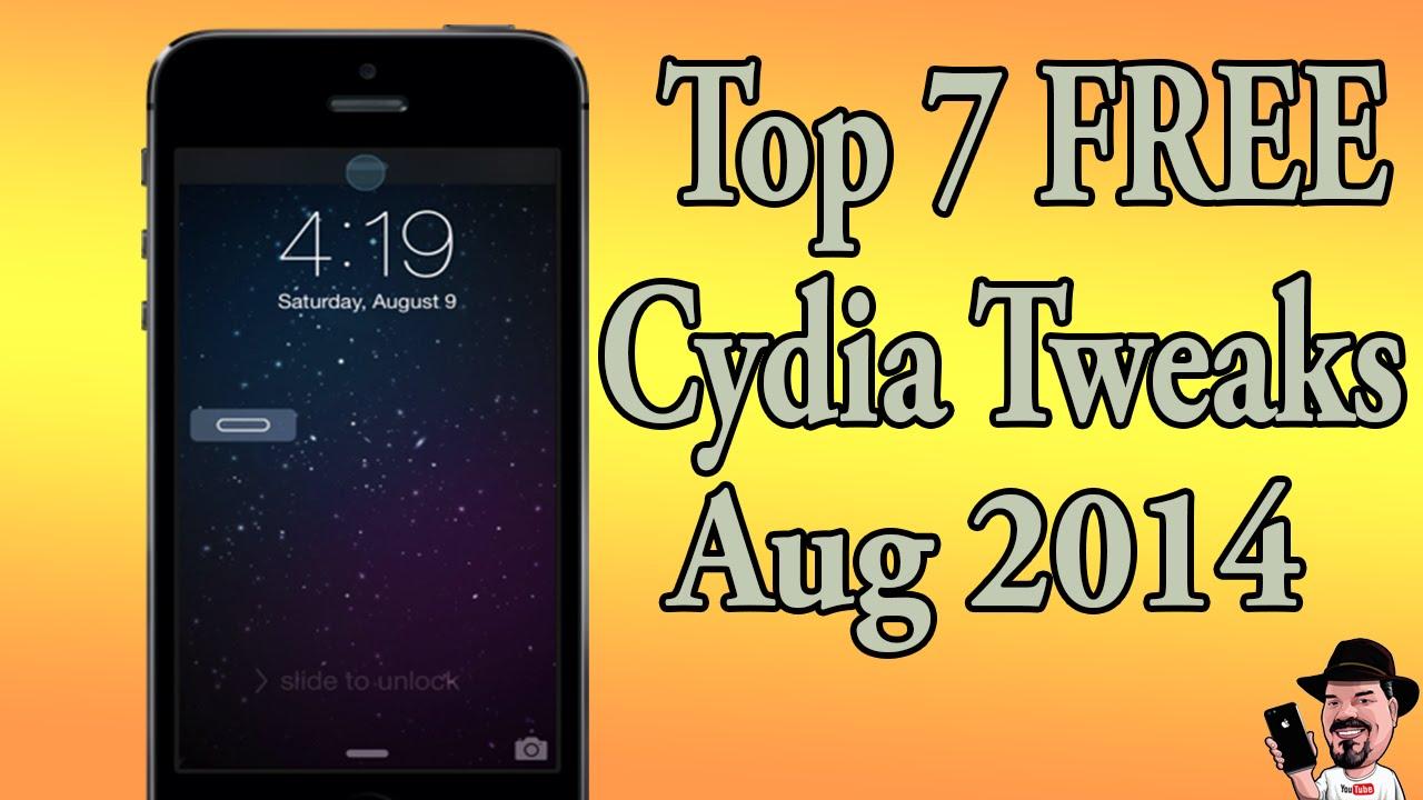 Best Top 7 Free Cydia Tweaks 7 1 2 Pangu Jailbreak August 9 2014 Youtube