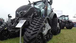VALTRA T174e Versu na gąsienicach – NOWOŚĆ Agro Show 2017!