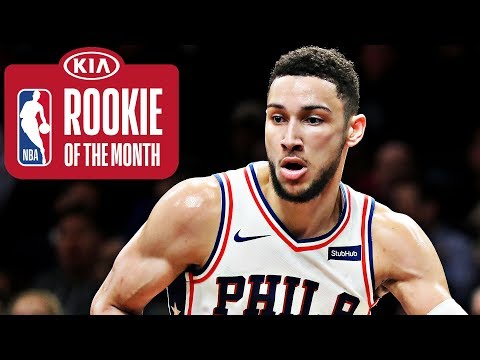 Ben Simmons | Rookie of the Month | January 2018