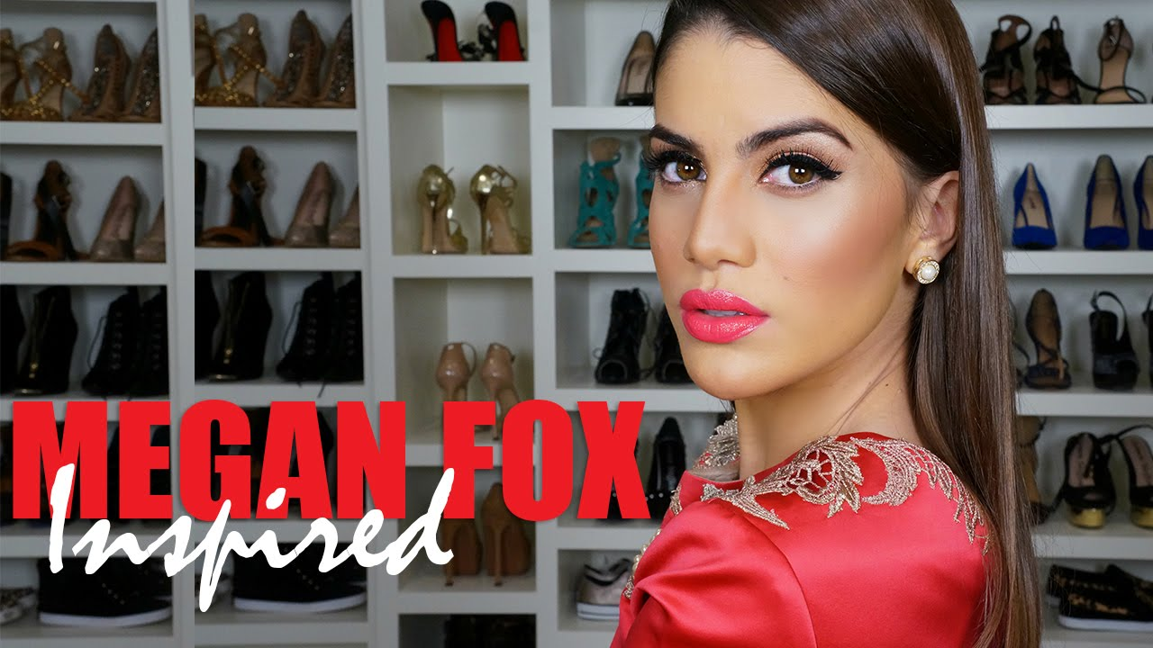 Megan Fox Inspired Makeup Tutorial - YouTube