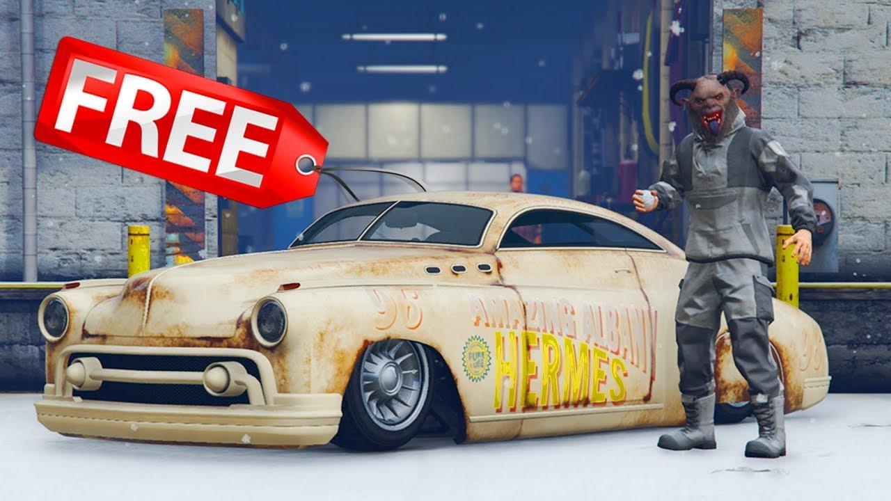 GTA 5 ONLINE NEW ALBANY HERMES CHRISTMAS DLC CAR & NEW CHRISTMAS ...