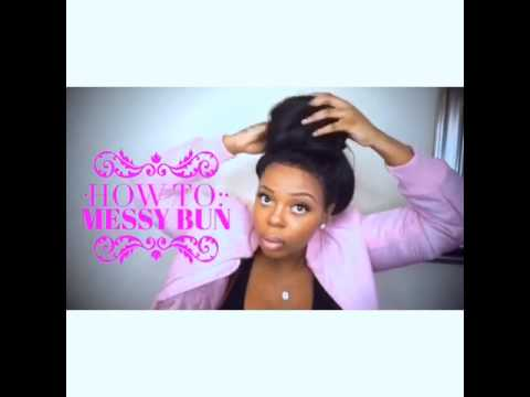 how to make a high messy ponytail
