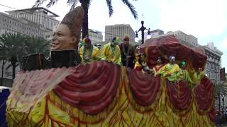 Mardi Gras Parade 2014  New Orleans LA.
