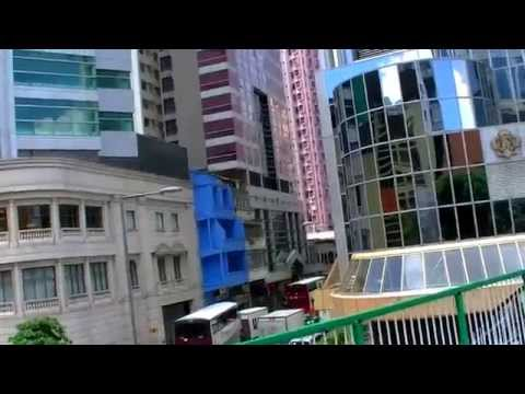 2017-香港自由行-銅鑼灣rosedale珀麗、regal富豪香港酒店步行往銅鑼灣港鐵站沿途實景