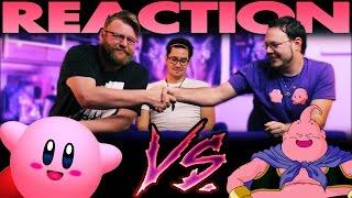 Kirby VS Majin Buu Death Battle SLAPBET and REACTION!!