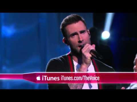 R  City And Adam Levine   Locked Away    The Voice 2015
