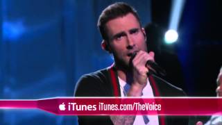 Video R  City and Adam Levine   Locked Away    The Voice 2015 download MP3, 3GP, MP4, WEBM, AVI, FLV Januari 2018