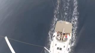 Yacht trip best ever view greace 2015 segeln segel yacht charter die beste Aussicht von einen Boot