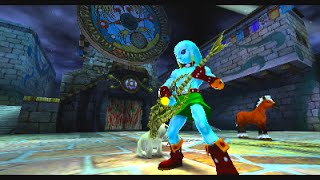 Clock Town and Gerudo Valley theme played on Majora