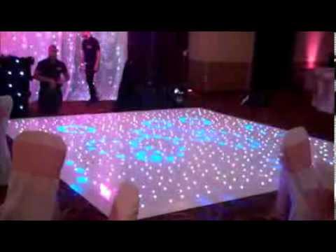 Light Up Your Wedding Through Starlight Dance Floor Hire