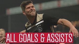 All Goals & Assists - Klaas Jan Huntelaar 2018/19