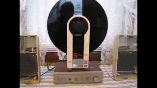 A Look At & Demonstration Of The SONY Model #PS-F5 Stereo Turntable System