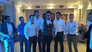 Groom's dance with his best men. Свадебный танец жениха со свидетелями