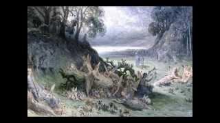 Wolfregens Lyrik:Seraphische Nachtigall-Rezitation mit Musik v. L.McKennitt;Abb.:C.D. Friedrich u.a.