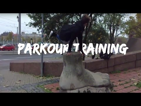 My Week of Parkour training   Parkour POV