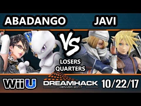 DHDEN17 Smash 4 - LG | Abadango (Mewtwo, Bayonetta) Vs. Javi (Sheik, Cloud) - Wii U Singles LQF
