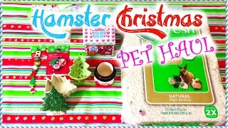 HAMSTER Christmas Pet Haul | 2014 Thumbnail