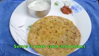 Aloo Paratha Recipe   Potato Stuffed Paratha   आलू पराठा   आलू पराठा कैसे बनाना है   Simple&Tasty