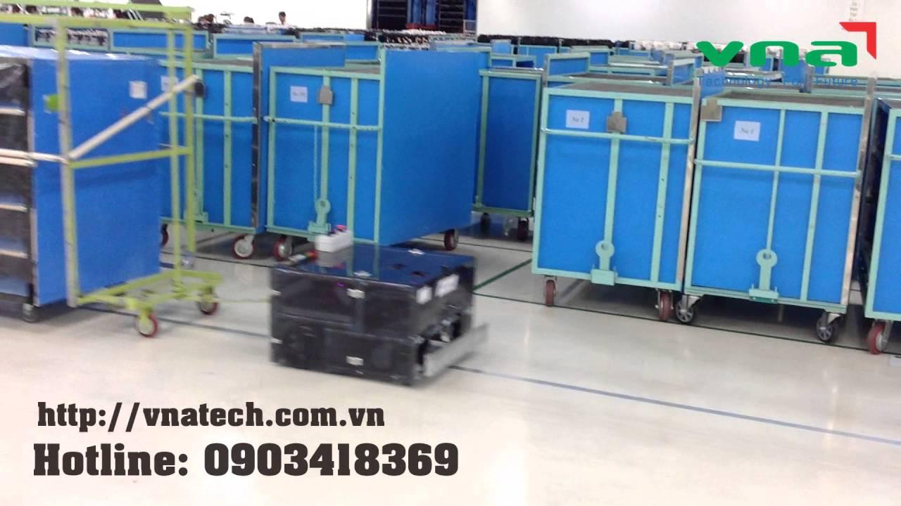 AGV | Robot công nghiệp | Robot chuyển hàng 0903418369