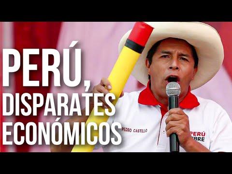 ¿Cuáles son las propuestas económicas de Pedro Castillo?
