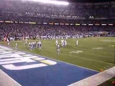 chargers Colts 2007