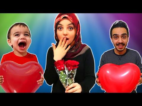 Yağız Sevgililer Günü Sürprizi - Çocuk Videosu YED SHOW