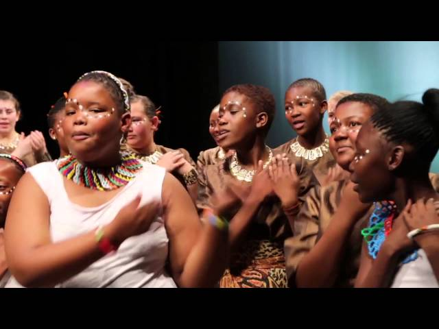 Cantare children's choir from South Africa - the winner of Golden Voices of Montserrat 2016