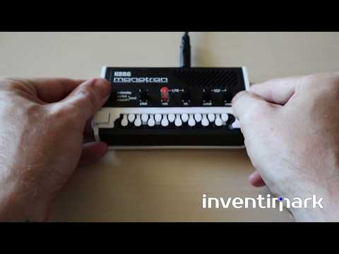 Delay Duo 3D printed keyboard for Korg Monotron
