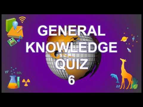 General Knowledge Trivia Quiz 6