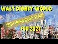 Walt Disney World 50th Anniversary plans for 2021