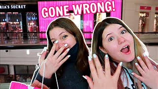 WE GOT IN TROUBLE AT THE MALL! ***Shopping Gone Wrong***