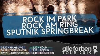 ROCK IM PARK - ROCK AM RING - SPUTNIK SPRINGBREAK x ALLE FARBEN TOUR 2019