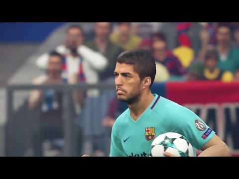 PES 2018 - Ultimate Stage Stadium PSG vs Barcelona