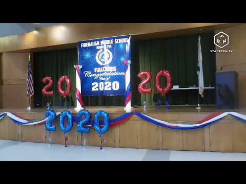 Firebaugh Middle School 8th Grade Promotion 2020 Day 2 Part 2