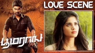 Boomerang Love Scene Atharvaa Megha Akash Indhuja Ravichandran Sathish RJ Balaji