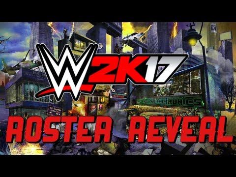 WWE 2K17 Roster Reveal Week #4 - New Superstars & Women