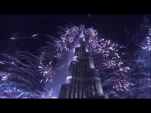 New Year's fireworks around the world 2018