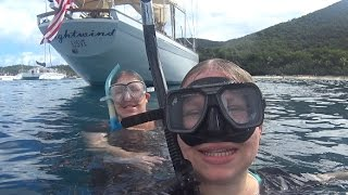 1 Sailboat • 2 Snorkeling Stops • And Some Really WEIRD Stuff! Cruise Vacation Vlog [ep12]