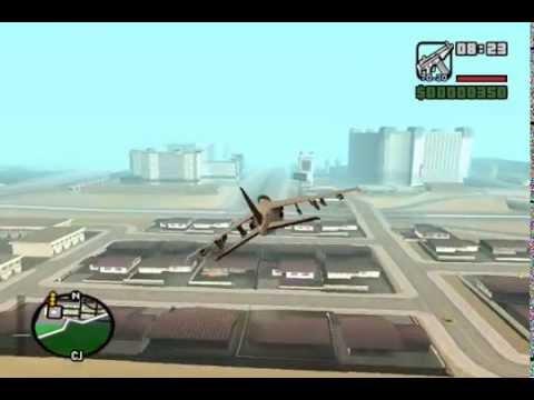 Gta San Andreas Dos Aviones Ocultos Trucos Del Juego Youtube