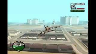 GTA SAN ANDREAS dos aviones ocultos + trucos del juego.