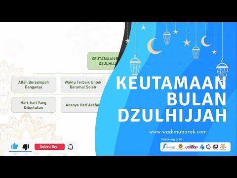 Keutamaan 10 Hari Pertama Bulan Dzulhijjah | Ustadz. Dr. Didik Hariyanto Lc., M.P.I.