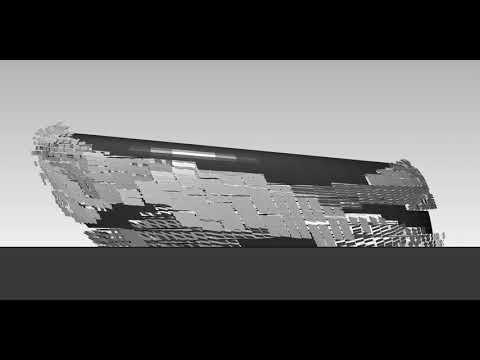 Facade Animation - Aquatic Stadium