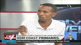 Nyali ODM Aspirant Mohamed Ali (Jicho Pevu) cries foul over loss, blames Joho